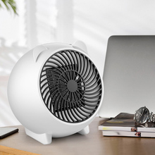 Portable Silent Electric Fan Heater Small Household Winter Warmer Office Desktop Use Hot Sale 220v 900w low price floor large size electric heater with adjustable height electric fan heater electric warmer household office
