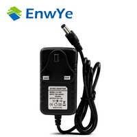 EnwYe EU US UK enchufe 12 V 2A 3A transformadores de iluminación 100 V-240 V interruptor adaptador de fuente de alimentación convertidor para controlador de tira de LED RGB
