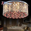 Z Modern Led Light Romantic Livingroom Crystal Light LED Celling Light Benroom Pendant Lamp Home Lighting