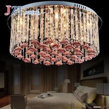 Z modern led light romantic livingroom crystal light LED celling light benroom pendant lamp home Lighting lamp( bulbs included)