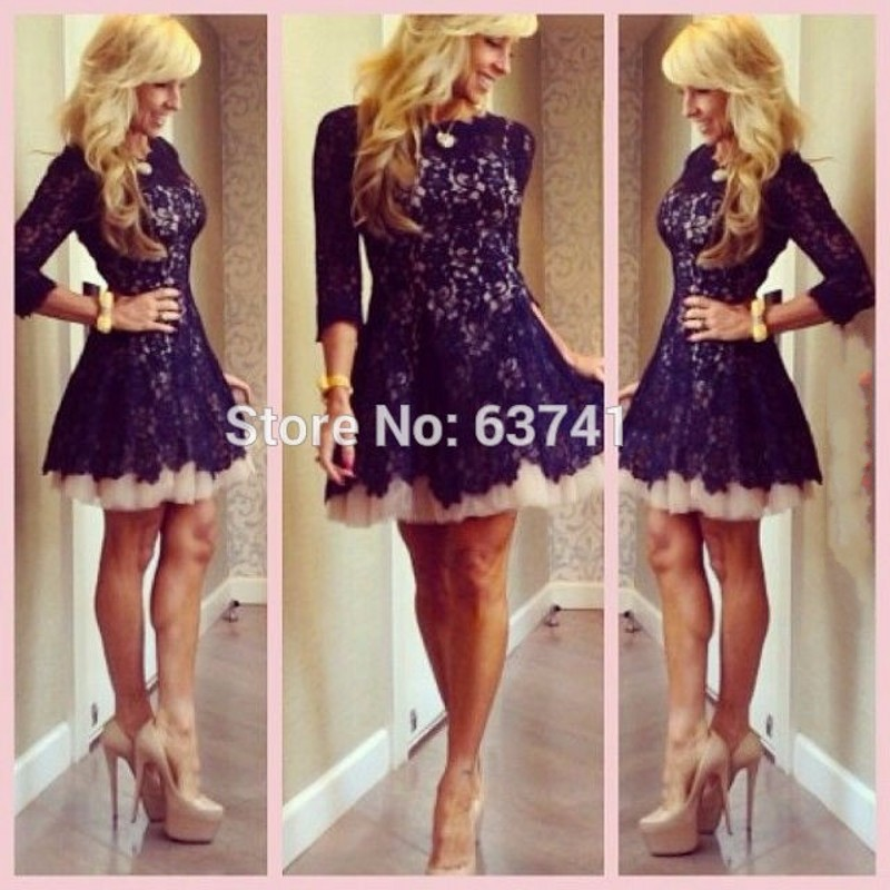 Online Buy Wholesale blue cocktail prom dresses 2015 from China ...