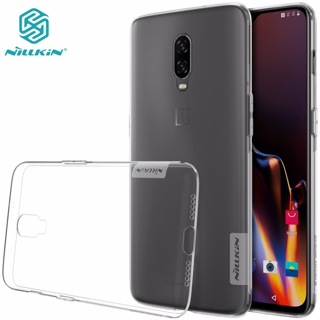 huge selection of 41c0a e9c90 US $4.99  case For Oneplus 6T One plus 6T NILLKIN Nature Transparent clear  soft TPU Luxury back cover for oneplus 6T-in Fitted Cases from Cellphones &  ...