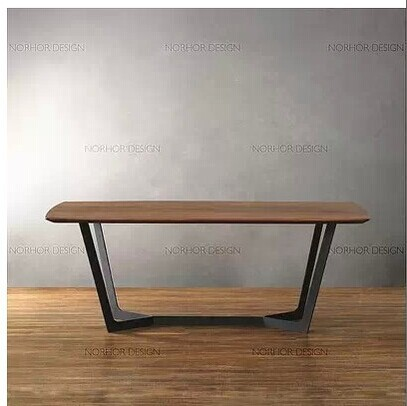 Exceptionnel Distressed American Country Wood Coffee Table Coffee Table Wrought Iron  Furniture, Wrought Iron Legs Old