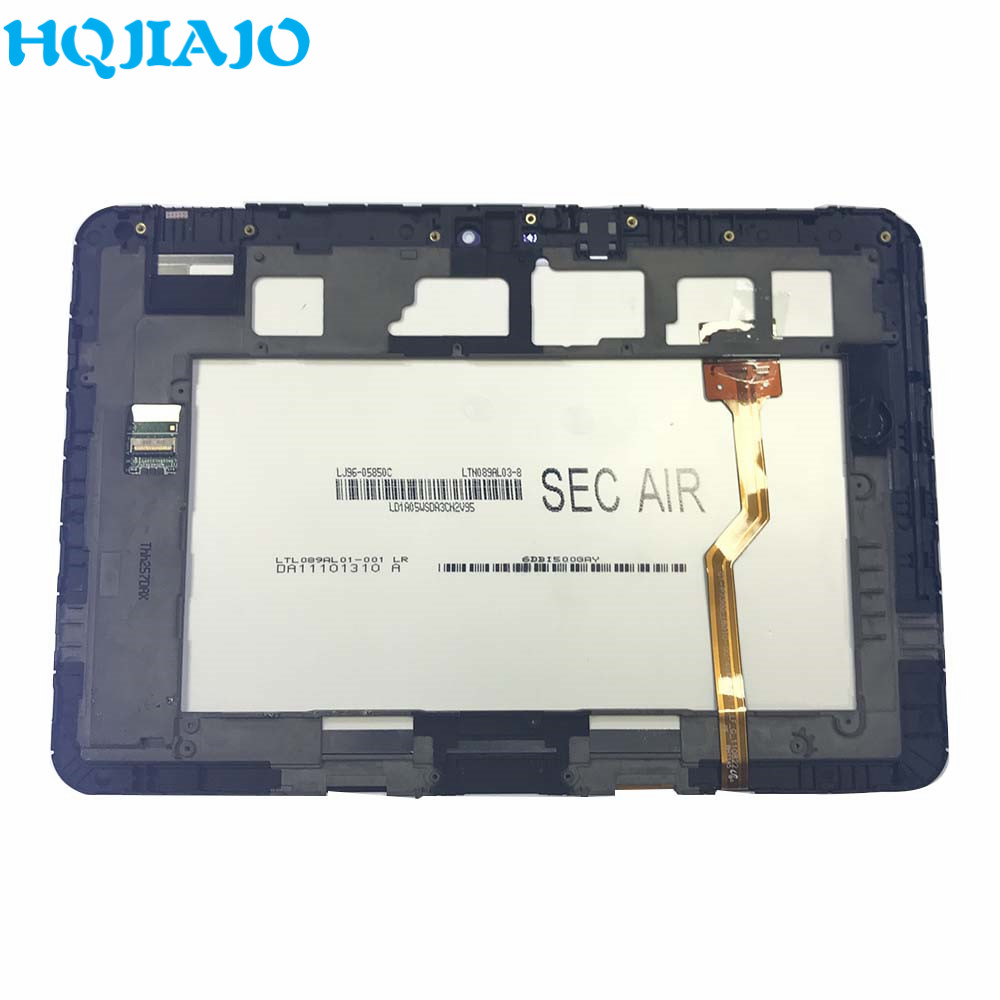 Tablet LCD For <font><b>Samsung</b></font> Galaxy Tab 8.9 <font><b>P7300</b></font> P7310 LCD Display Touch <font><b>Screen</b></font> Digitizer Frame Assembly For <font><b>Samsung</b></font> <font><b>P7300</b></font> P7310 LCD image