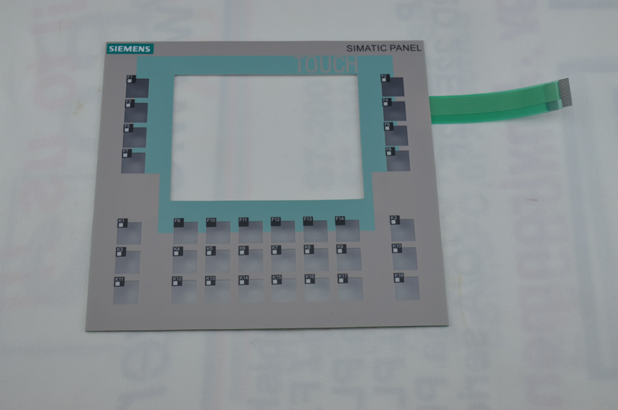 Membrane keypad for 6AV6642-0DA01-1AX0 for SlMATIC OP177B HMI KEYPAD, Membrane switch , simatic HMI keypad , IN STOCK membrane keypad for 6av6652 7ca01 3aa0 ktp600