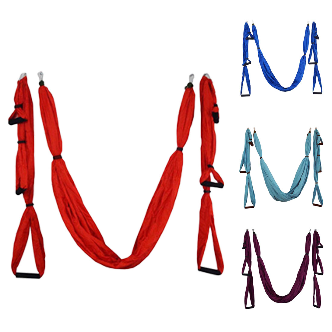 Nouveau Anti-gravité Yoga hamac balançoire Parachute tissu Inversion thérapie haute résistance décompression hamac Yoga Gym suspendu