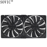 Computer PC CPU Case Fan 14cm140mm 3pin 12v High Speed Industrial Case Cabinet High Quality Miner