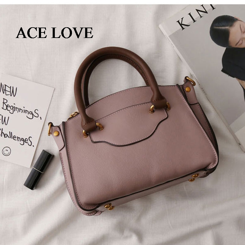 New Famous Designer Brand Luxury Women Cow Leather Handbags Fashion Smile Face Tote Quality Trapeze Smiley Clutches 2016 new shades european style fashion brand designer metal sunglasses for women luxury quality large round sun glasses