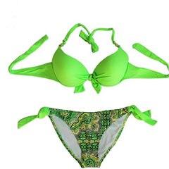 HTB1ojUvXL2H8KJjy0Fcq6yDlFXaV Bikini Solid Strappy Bandage Bikinis Set White Push Up Bikini Swimwear Bandeau Brazilian Swimsuit Bathing Suit Maillot De Bain