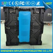 P3 91 super slim indoor rental LED display die casting aluminum cabinet 500mm x 500mm