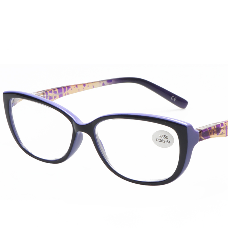 15c6881ff8 2017 Russian Style Fashion Reading Glasses Women High Power Presbyopic  Glasses +5.50 Degree-in Reading Glasses from Women s Clothing   Accessories  on ...