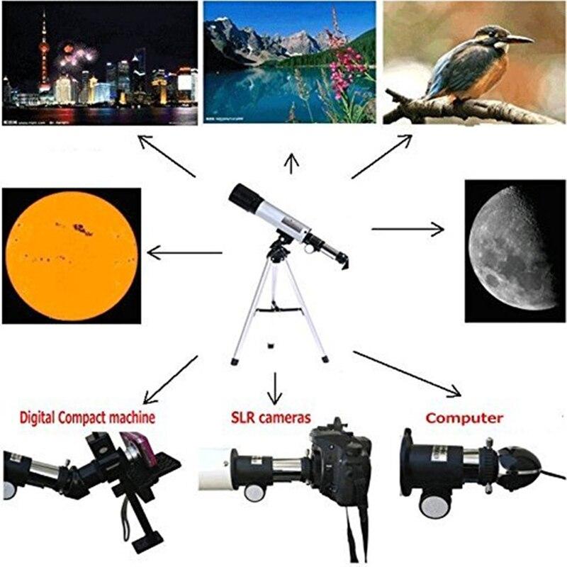 Image 5 - فلكية للهواتف الذكية تلسكوب عدسات تكبير 30x 60X كاميرا واحدة HD  تلسكوب المقربة مع العدسات كليب للهاتف المحمول-في عدسات الهاتف المحمول من  الهواتف المحمولة ووسائل الاتصالات على