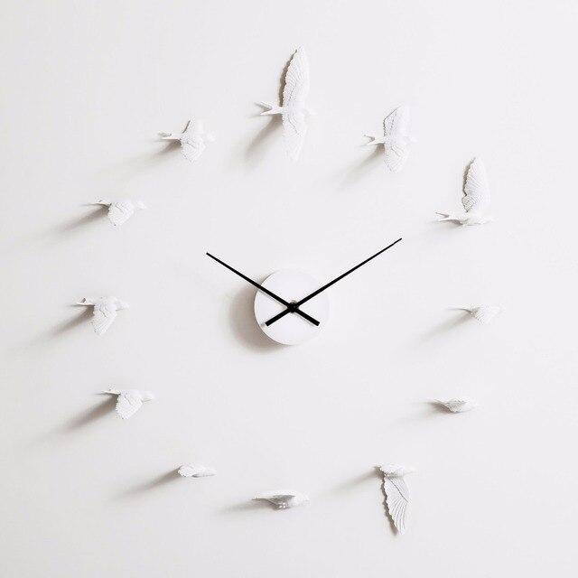 design wanduhr neue swallow handwerk uhr modernes gutes geschenk hochwertigen heimtextilien produkt wohnzimmer