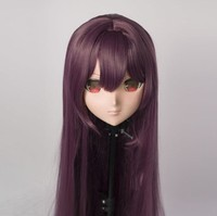 (MSM01AD) Custom Female/Girl Resin 3/4 Head Cosplay Japanese Role Play Anime Scáthach Kigurumi Mask Crossdresser Doll