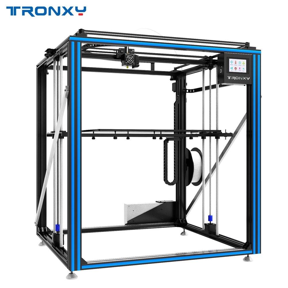 Горячая Распродажа Tronxy X5ST-500-2E Циклоп 3d принтеры 2 в 1 из большой размеры очаг двойной экструдер двигатель