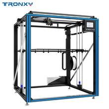 Горячая продажа Tronxy X5ST-500-2E Циклоп 3d принтер 2 в 1 большой размер горячей двойной экструдер Мотор