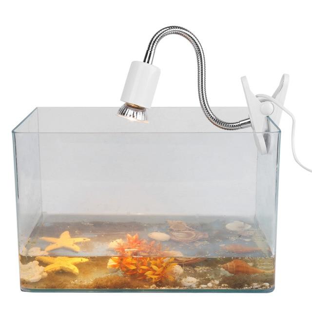 25W 220 240V Heating Light Aquarium Tools Heat Lamp For Reptile Turtles  With Lamp Holder
