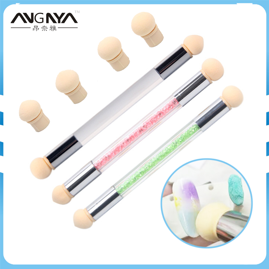 برس قلم موی 1Pcs ناخن UV ژل رنگ ناخن شیب - هنر آرایش ناخن