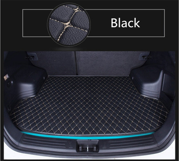 Auto Cargo Liner Trunk Mats For LEXUS CT200h 2011-2018 Car Boot Mat High Quality Brand New Embroidery Leather