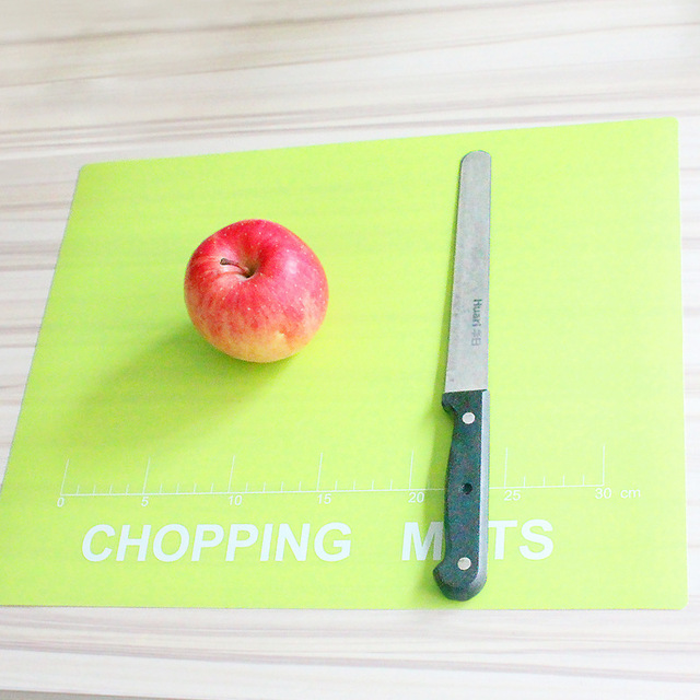 Sterile Chopping Board Plastic Cutting Kitchen Knife Plate Antiskid Small Panel Sticky