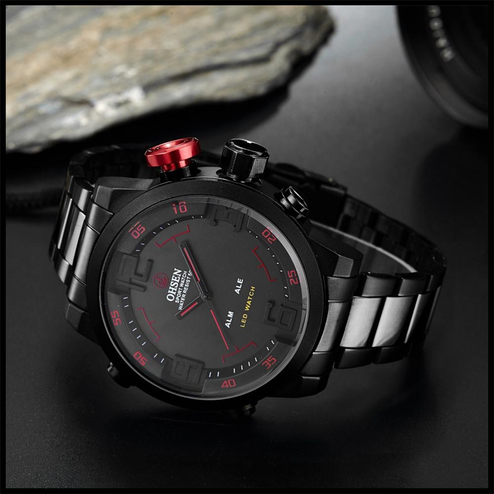 New Watch Men's Military Watches Sports Quartz Wristwatches (19)