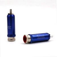 RCA Audio Plug Silver Plated 4pcs +1pcs TORX T6 Wrench hifi rca plug