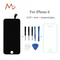 No Dead Pixel Screen For IPhone 6 6Plus White Black Replacement LCD Display Digitizer Touch Screen