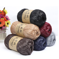 500g/Bag Egyptian Long staple Cashmere Cotton Flower style Hand made Scarves Coat Hand Knitted Needle Crochet Yarn For Knitting
