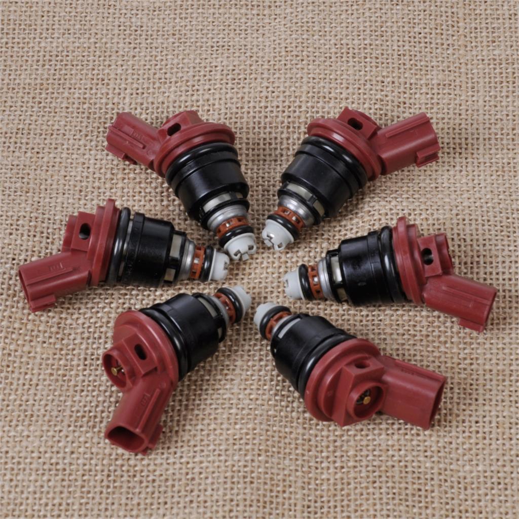 DWCX 6х Новый поток соответствовал 842-18114 Топливная Форсунка 16600-53J03 для Ниссан Альтима сайт 300zx 3.0 L для Инфинити И30 Максима J30 Сентра