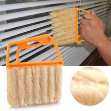 1 pcs Seven Tooth Blinds Window Cleaning Brush Cleaner Washable Brush Duster for Washing Windows Household Tool S2