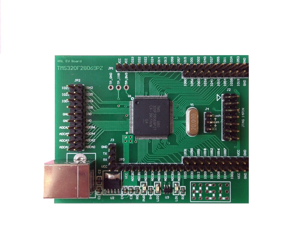 YIC 28069, TMS320F28069 Development Board, C2000, DSP, PICCOLO, 28027, 28035