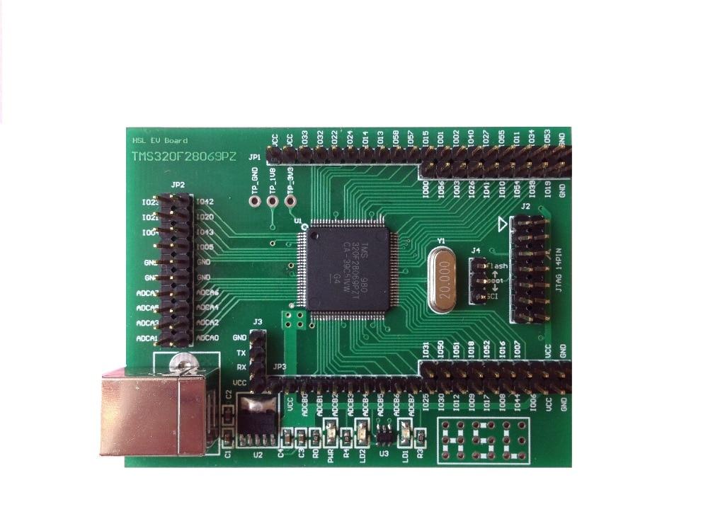 YIC 28069, TMS320F28069 Development Board, C2000, DSP, PICCOLO, 28027, 28035