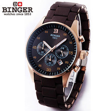 2017 Men Sports Watches Waterproof Fashion Casual Quartz Binger Watch Digital Analog Military Multifunctional Army Wristwatches