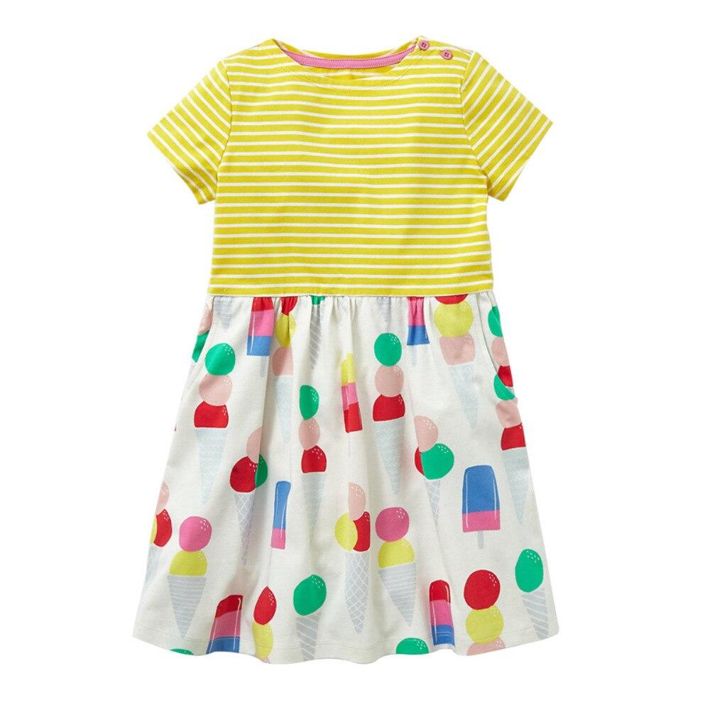Babykleding Print.Meisjes Zomer Babykleding Merk Kinderkleding Print Kinderkleding