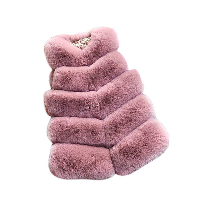 Detail Feedback Questions about Girls Vest Kids Coat Girl Fur Coat For Girls  2018 Fur Vests For Baby Kids Girl Winter Outerwear Children Clothing  YCOC1850 ... 99b2af4b9fe2