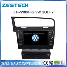 Free Shipping!ZESTECH 2013 newest Touch Screen Car DVD for VW GOLF 7 Car DVD GPS