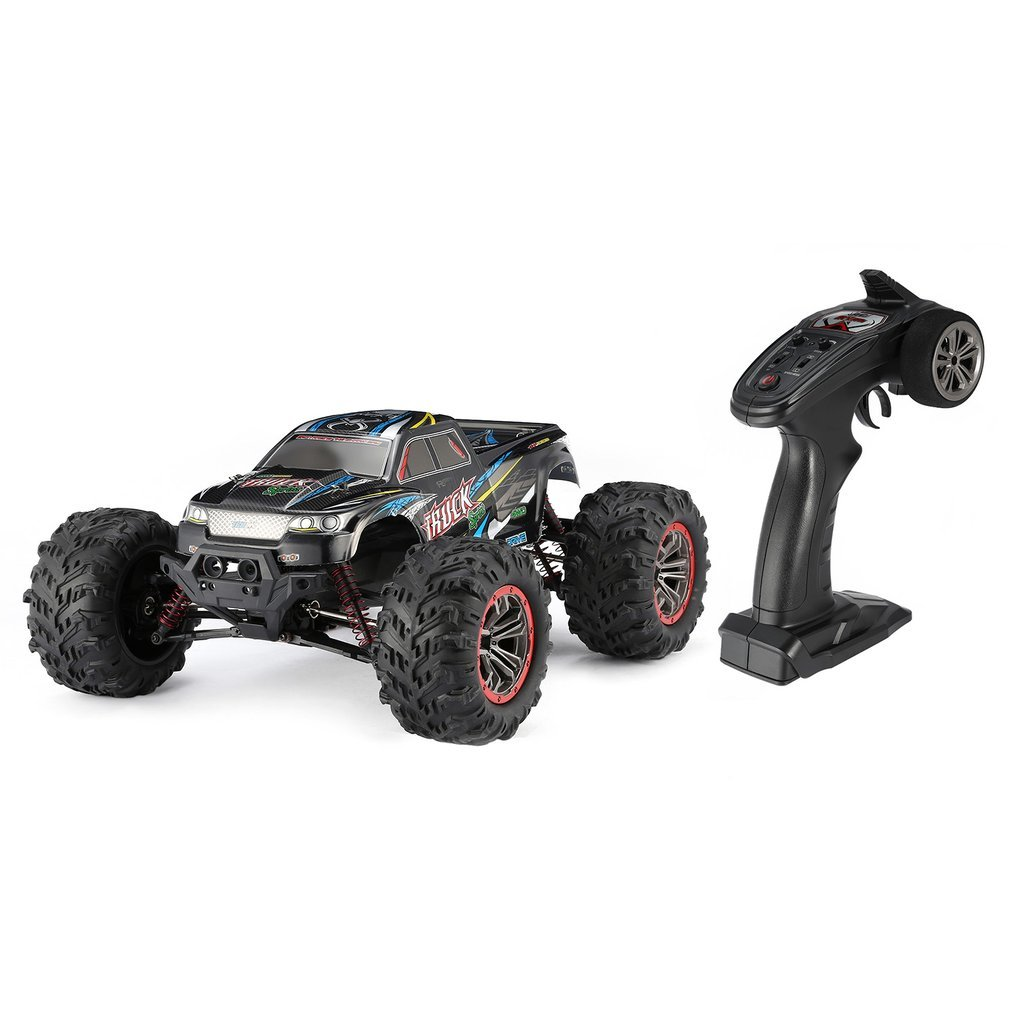 9125 4WD 1/10 RC coche de carreras juguetes con alta velocidad 46 km/h camión eléctrico supersónico todoterreno vehículo Buggy juguetes RTR alta calidad - 2