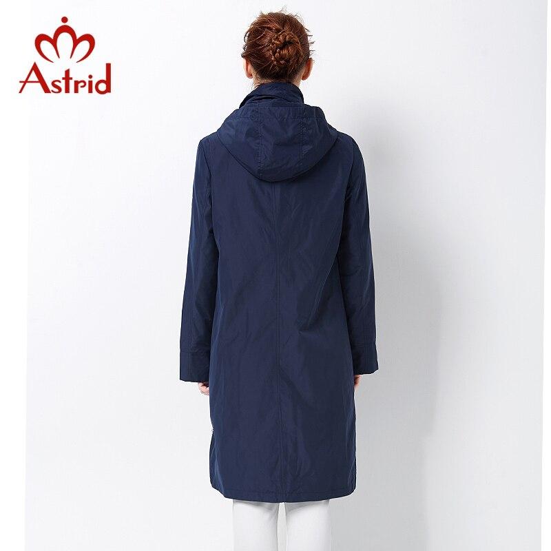 Астрид 2017 пальто высокого качества для женщин плюс размер Женская ветровка Весна и осень Пальто большого размера Женщины Пальто AS-2805