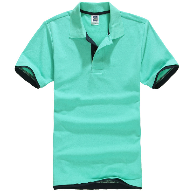 New Brand clothing New Men   Polo   Shirt Men Business & Casual solid male   polo   shirt Short Sleeve breathable   polo   shirt