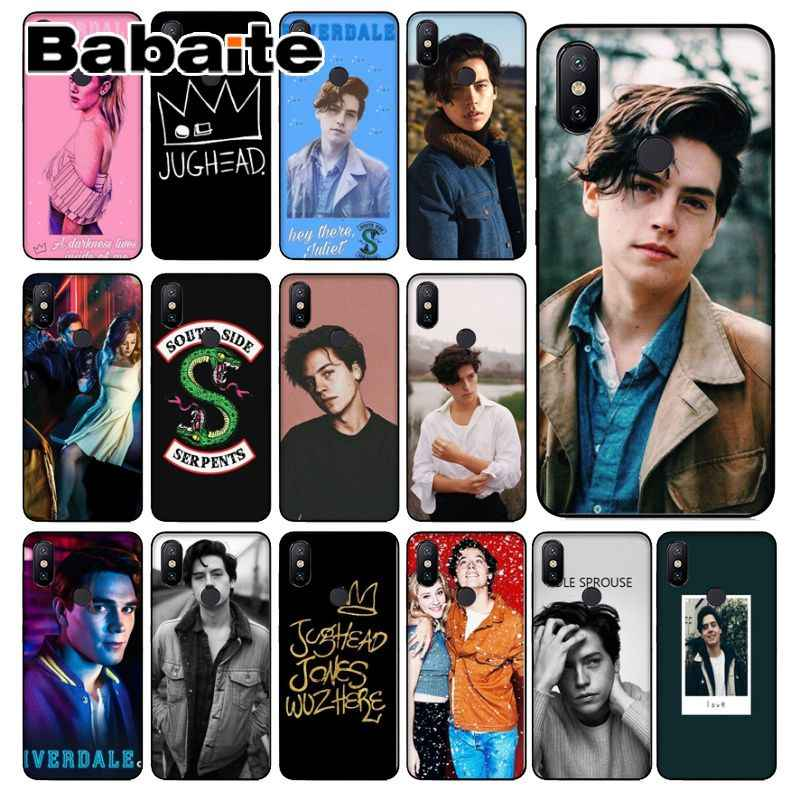 Babaite American TV Riverdale Jughead JonesTPU Phone Cover for Xiaomi Mi 6 8 8 SE Note 3 Mi Note 3 Mix 2 2s Resmi 5 Coque Shell