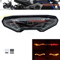 For YAMAHA MT-09 FZ-09 MT-09 Tracer/ Tracer 900 Tracer 700 MT-10/FZ-10 Integrated LED Tail Light Turn signal Blinker Smoke