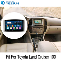 YESSUN For Toyota Land Cruiser 100 Android Car GPS Navigation DVD player Multimedia Radio Touch Screen Support Carplay