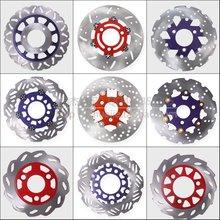 Мотоцикл изменение алюминиевого сплава тормозной диск 155 мм 180 мм 190 мм 200 мм 220 мм 260 мм размер Мотоцикл алюминиевого сплава тормозной диск