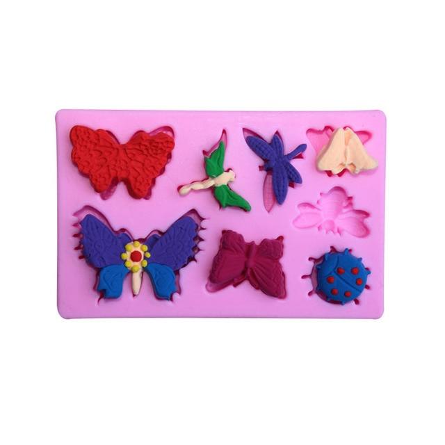 Diy Naturliche Thema Schmetterling Libelle Marienkafer Silikon