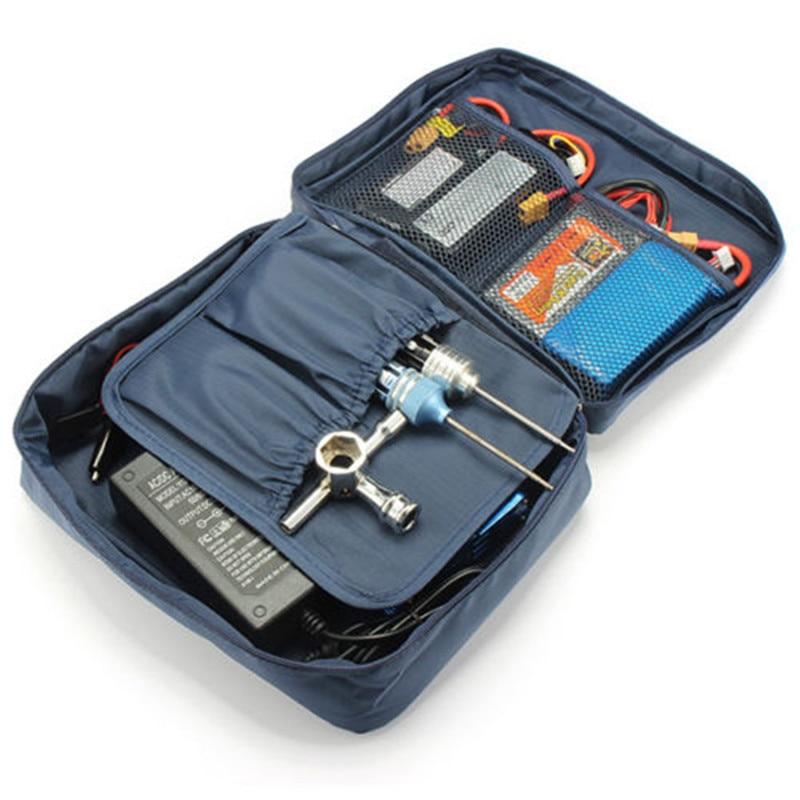 Storage bag tools for iMAX B6 mini B6AC RC car drone Lipo Nimh battery charger