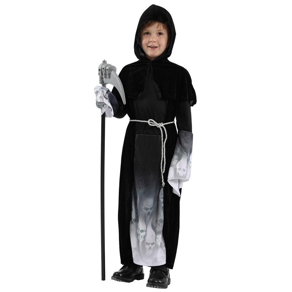 Boys Grim Reaper Halloween Costume 1