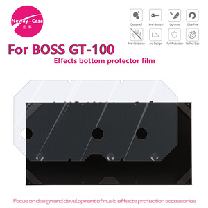 Image 5 - Neway Case Electric Guitar Multi Effect Protector Film for BOSS GT 100 Guitar Pedal Effects Accessories