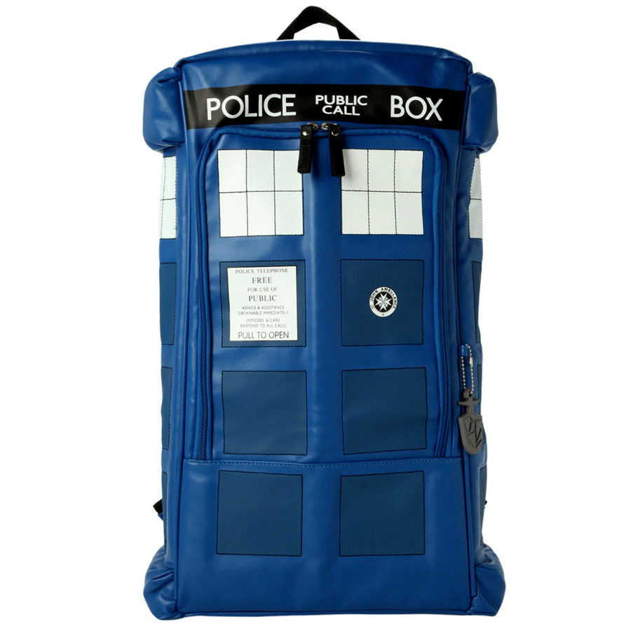 free shipping Doctor Who Backpack Dr Who Tardis Mochila Escolar Rucksack School Backpack For Teenager collection gift in bag TOY сарафаны doctor e сарафан