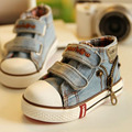 Boys Sneakers Hot 2016 Spring Autumn Children Shoes Breathable Baby Girls  Jeans Denim Flat Boots Casual  Canvas Shoes EUR 19-24