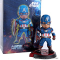 """Avengers Age of Ultron Egg Attack Captain America PVC Action Figure Collectible Model Toy 8"""" 20cm"""